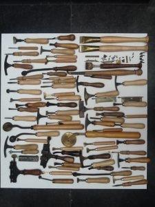 Buchbinderwerkzeuge Auktion